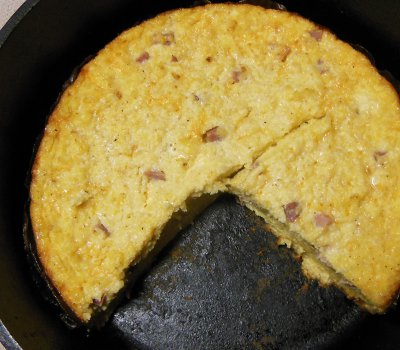 dutch oven egg bake recipe