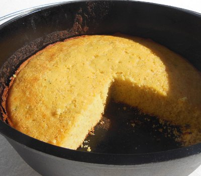dutch oven spicy cornbread recipe